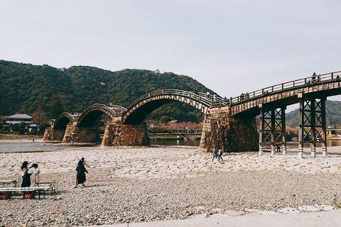 安本建設 岩国 錦帯橋