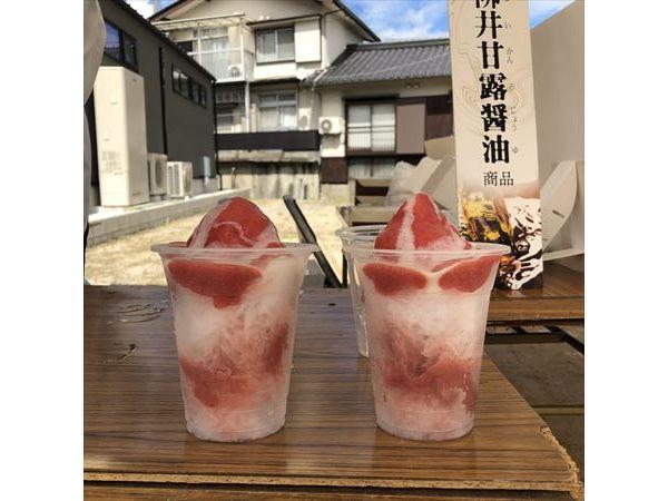 シェ・カワモトのかき氷