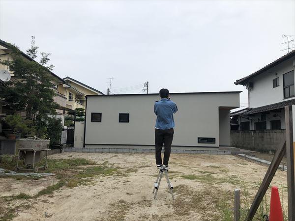 岩国市注文住宅の撮影