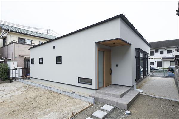 山口県岩国市の平屋の注文住宅です。
