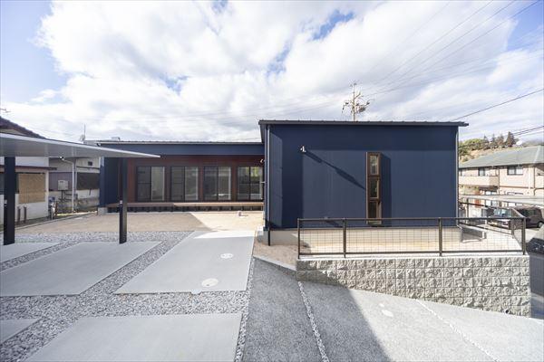 山口県岩国市の平屋の新築一戸建てです。