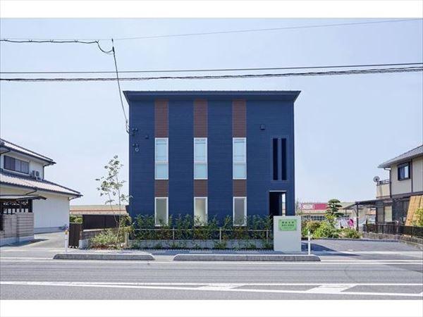 岩国市の注文住宅兼事務所です。