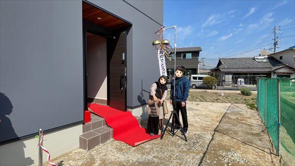 山口県岩国市で注文住宅のお引渡しをおこないました