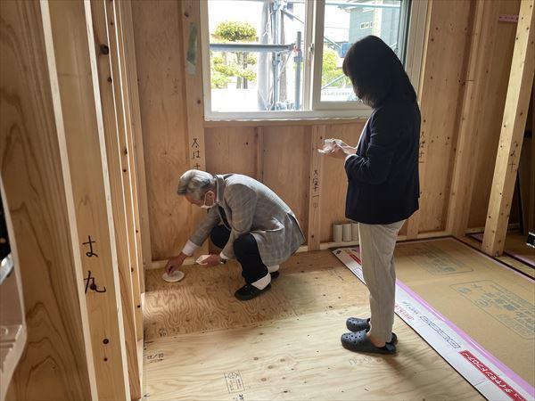山口県岩国市で新築注文住宅を建築中です。