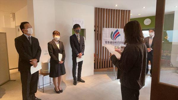 山口県岩国市の建設会社で新卒と中途採用をおこないました。