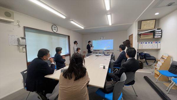 山口県岩国市で入社式のオリエンテーションをおこないました。