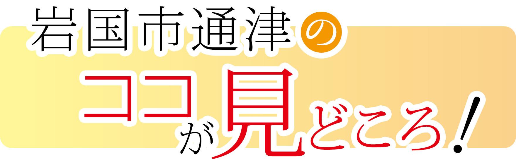 岩国市通津のココが見どころ!
