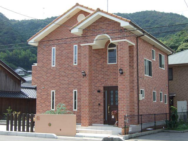山口県 岩国市 新築注文住宅 煉瓦の家