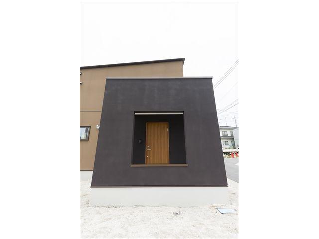 岩国市 新築注文住宅『額縁の家』