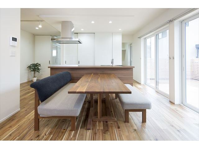 山口県 岩国市 新築注文住宅『こだわりの詰まったキュービックな家』