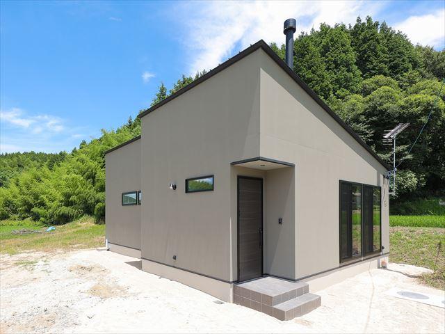 山口県 光市 新築注文住宅『薪ストーブのあるお家』