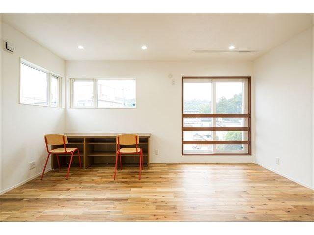 山口県 岩国市 新築注文住宅『カフェカウンタのある  木のぬくもりいっぱいの家』