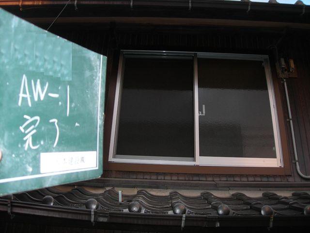建具復旧工事 2F窓