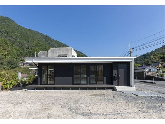 岩国市 新築注文住宅『大自然の中に建つ平屋の家』