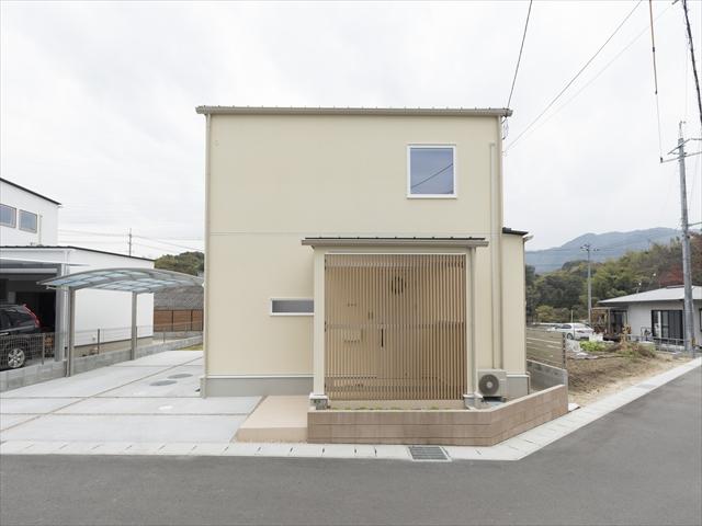 山口県 岩国市 新築注文住宅『のびのび ゆったり ウッドデッキの家』