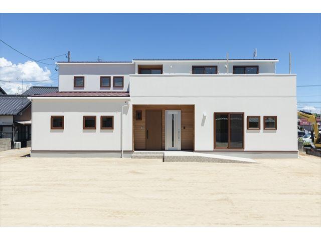 山口県 岩国市 新築注文住宅『つどい はぐくむいえ』