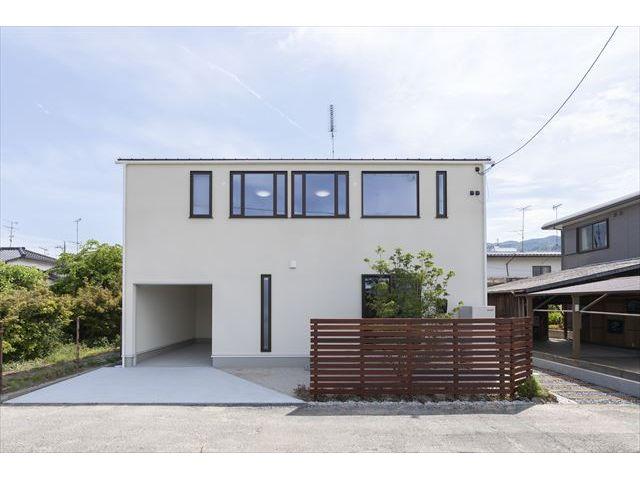 山口県 岩国市 新築注文住宅『開放的でオープンなLDK空間の家』