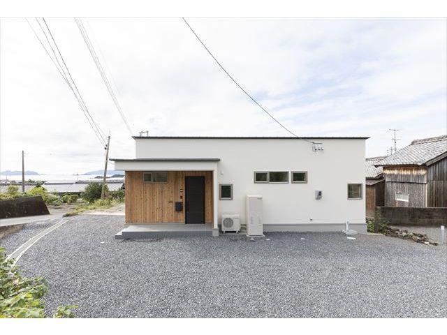山口県 光市 新築注文住宅『ナナメの視界を生かし海を望む棲まい』