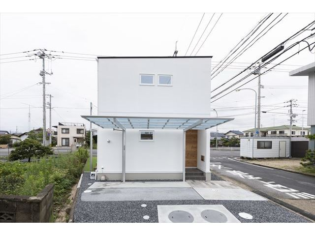 岩国市 新築注文住宅『家族を包み込む家』