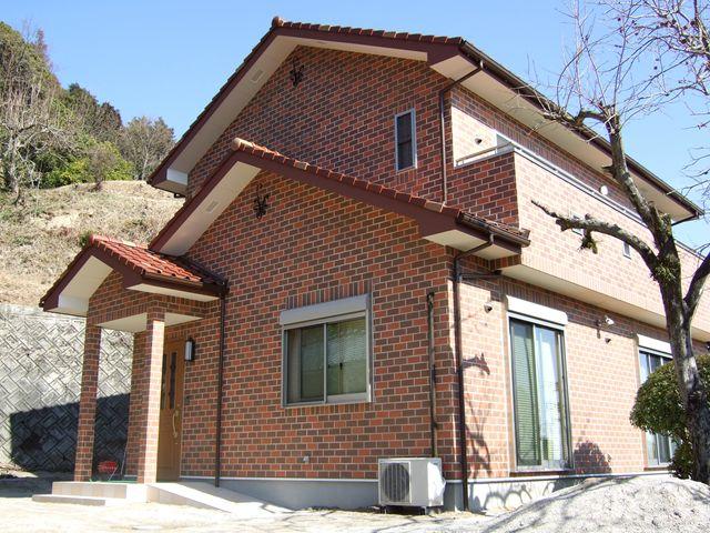 岩国市 新築注文住宅 煉瓦の家
