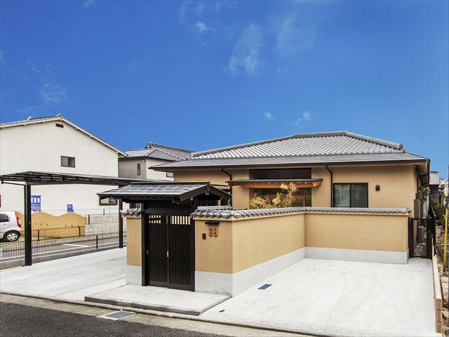 岩国市 新築注文住宅『モダン和風の家』