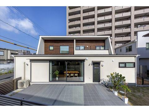 山口県 岩国市 新築注文住宅『輪が広がる家』