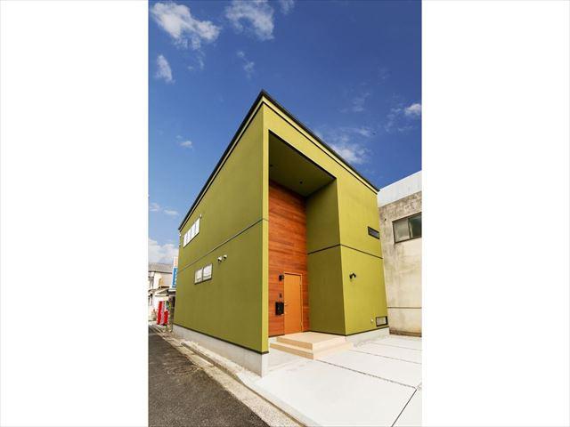 岩国市 新築注文住宅『必ず目を引く知的でオシャレな家』
