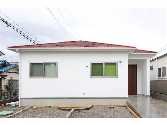 山口県 岩国市 新築注文住宅『夫婦2人のセカンドライフを楽しむためのモダンテイストの平屋』