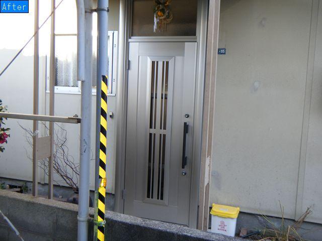 リフォーム 玄関ドア リフォーム